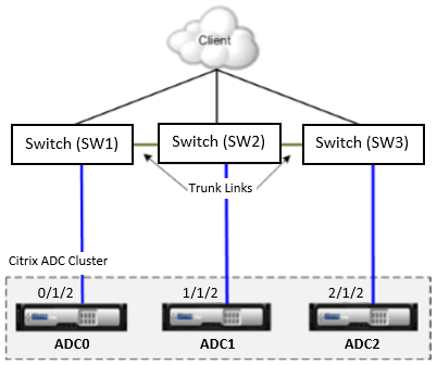 Different Switch for Every Node