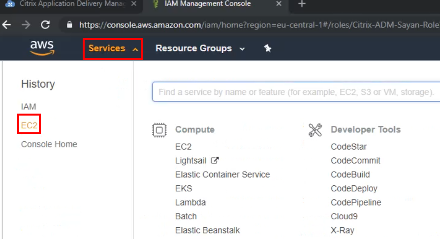 Citrix ADC and Amazon Web Services Validated Reference Design