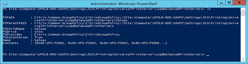 image showing PowerShell script execution