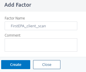Add factor name
