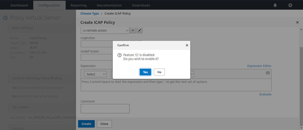 Use case: Making enterprise network secure by using ICAP for