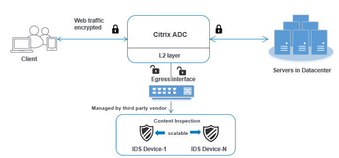 Load balancing multiple IDS devices