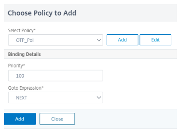Add LDAP auth policy