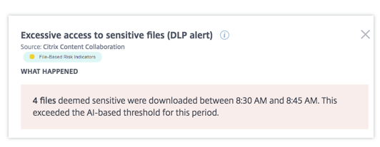 Excessive access to sensitive files what happened