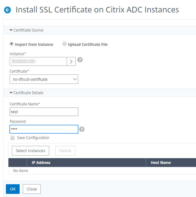 Install Ssl Certificates On A Citrix Adc Instance