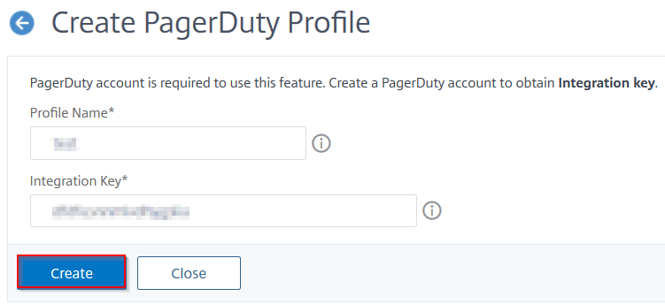 Create a profile
