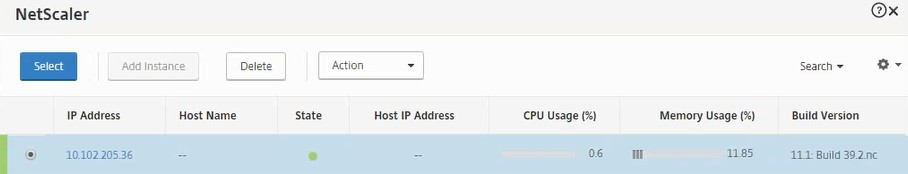 Specify the IP instance