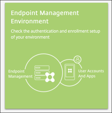 Endpoint Management Analyzer-Überprüfungstool