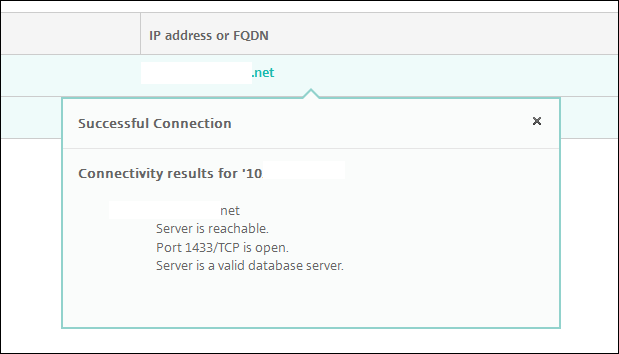 Endpoint Management Connectivity Checks