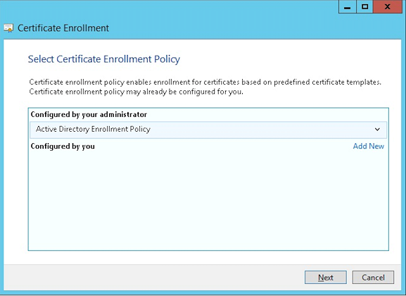 Client certificate or certificate plus domain authentication