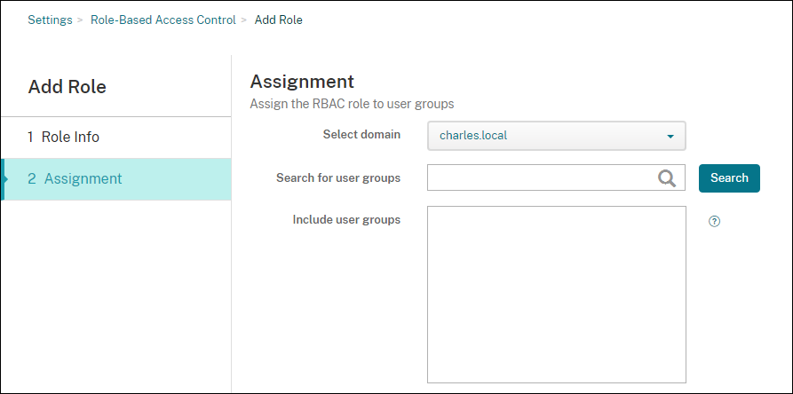Configuration de RBAC Endpoint Management