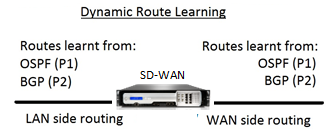 Dynamic route learning