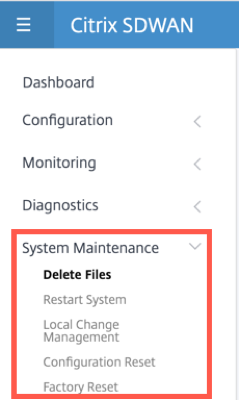 New user interface system maintenance