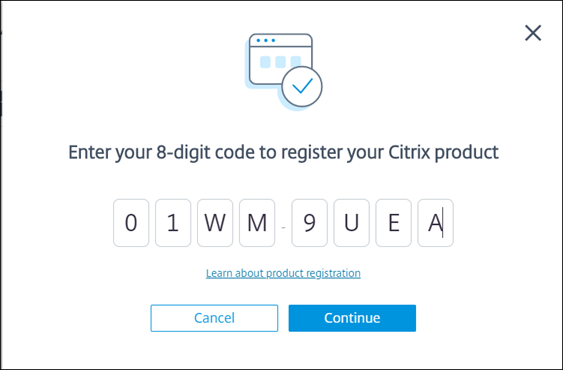 Register in Citrix Cloud