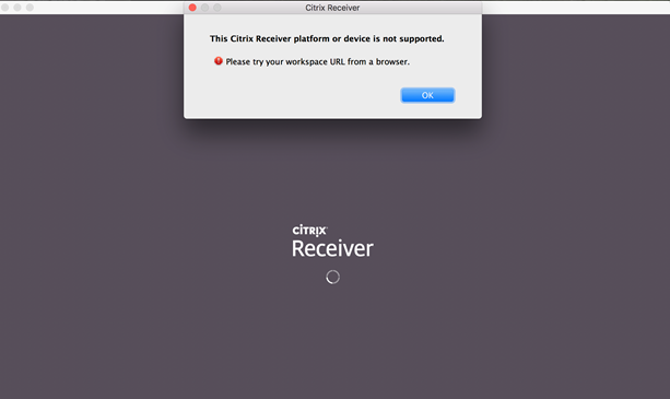 Citrix Receiver with AAD