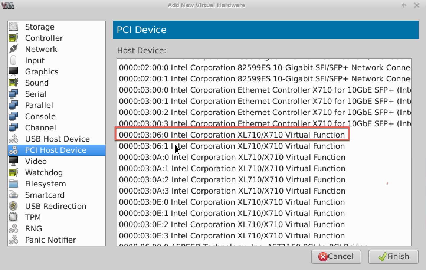 Configure a NetScaler VPX instance to use SR-IOV network interfaces