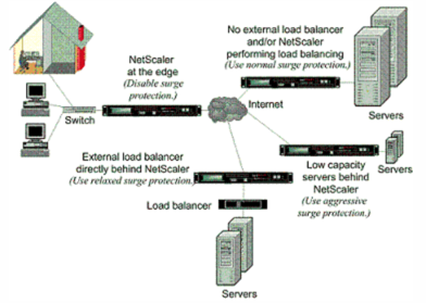 A Functional Illustration of NetScaler Surge Protection