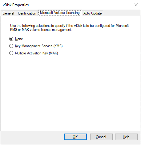 Virtual disk Properties Microsoft Volume Licensing