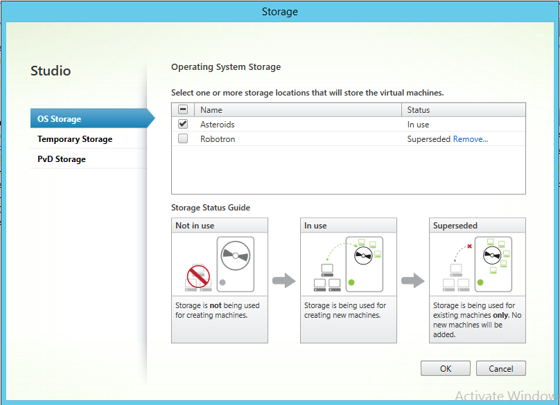 Operating System Storage