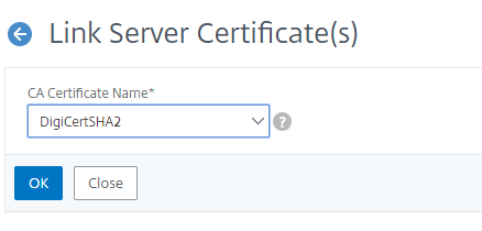 Certificate-Linked