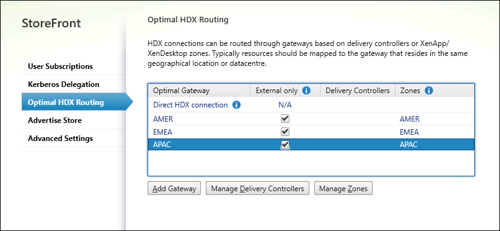 Optimal HDX Routing