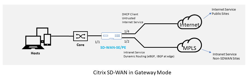 Citrix SD-WAN Reference Architecture