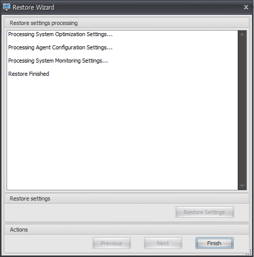 Configuring configuration sets 14