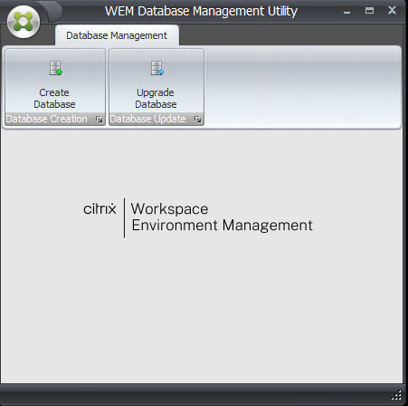 Creating a WEM database 13
