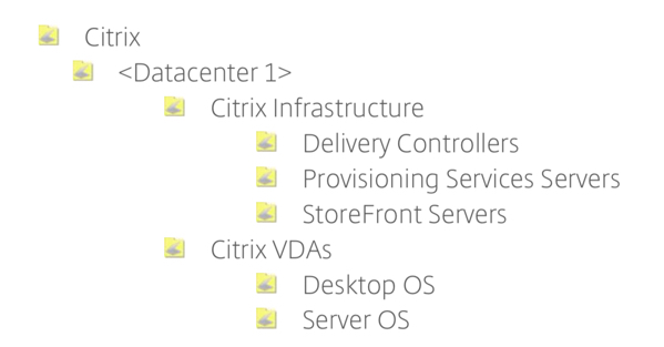 Citrix OU image