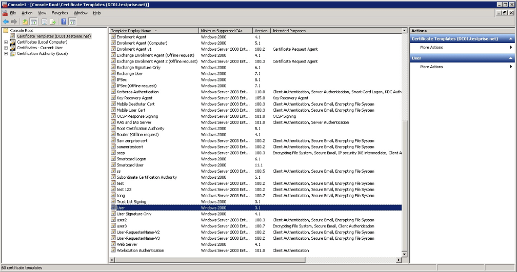 Image of Microsoft Management Console
