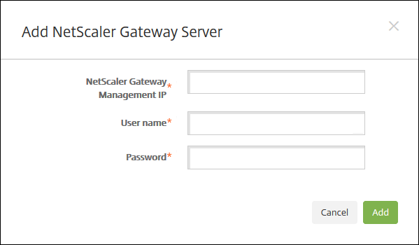 Image of NetScaler Gateway support bundle