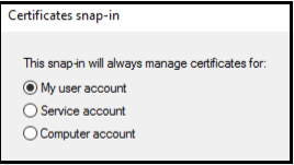 Image of Windows Add or Remove Snap-ins